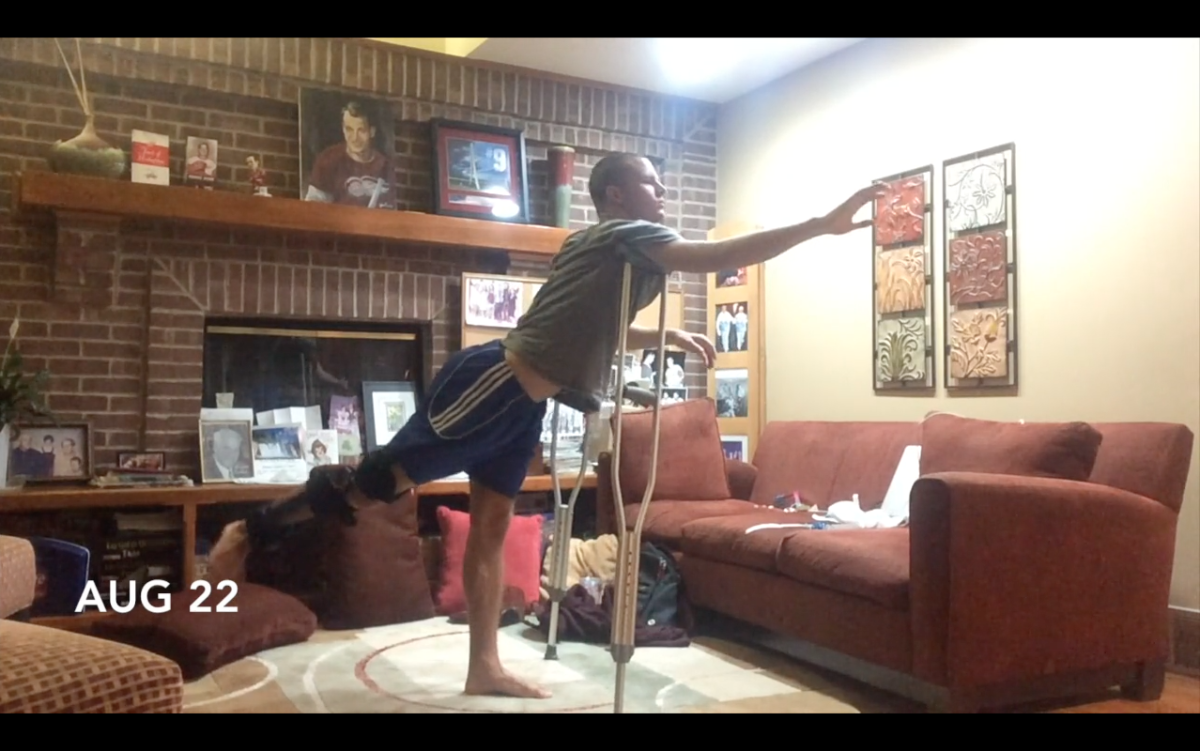 Watch: Dancer Sean Howe's inspiring time-lapse recovery