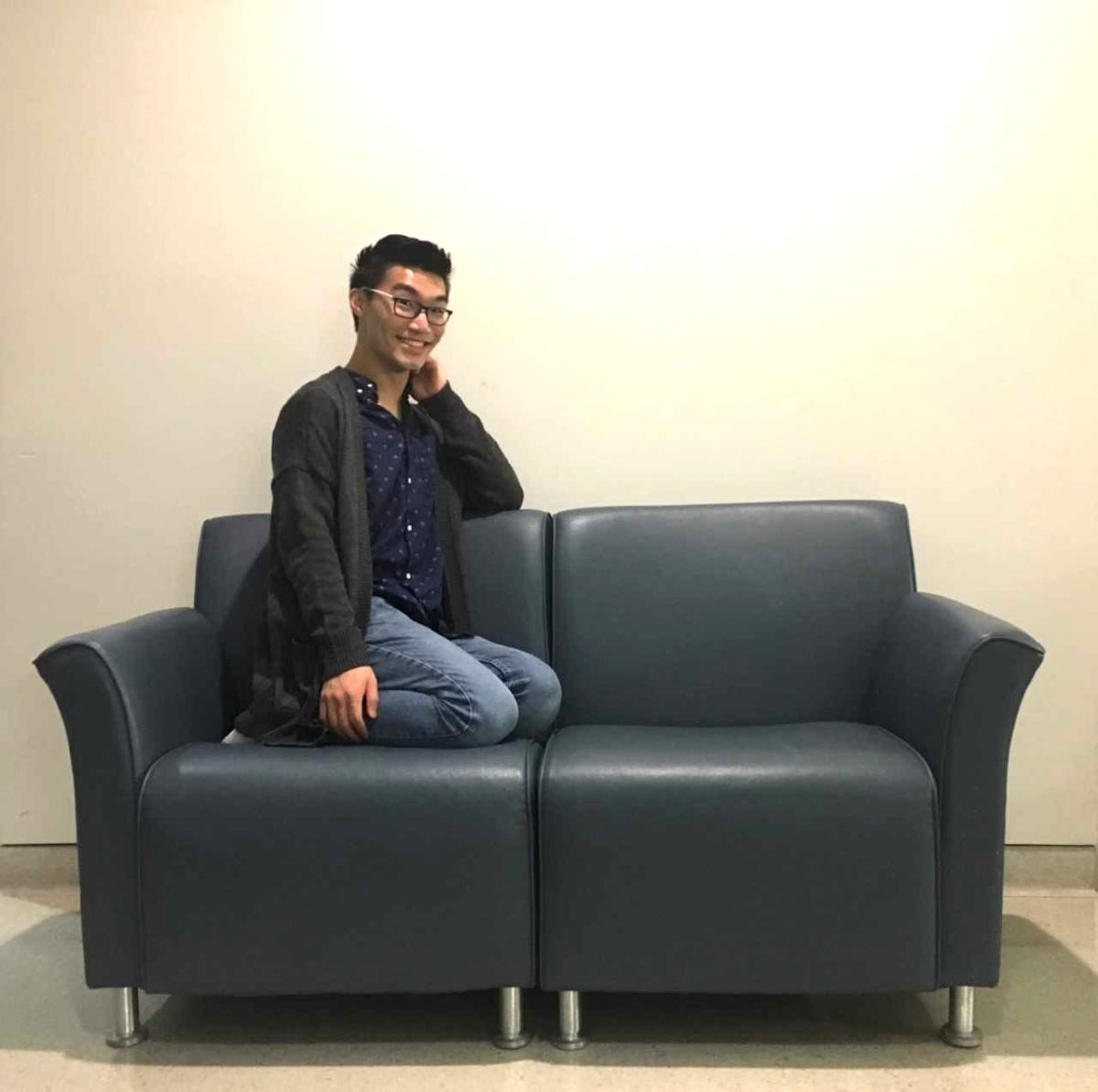 Matt Liu's Big Blue Couch Concert!