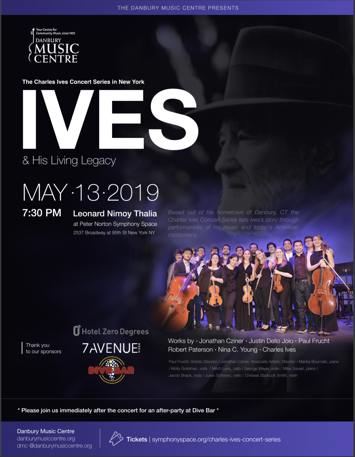 Charles Ives Concert Series Comes to New York